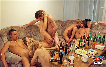 Drunk Student Party